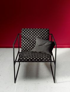 REGENTA by Ulf Moritz - Upholstery velours with a graphic design and matt-gloss effect.