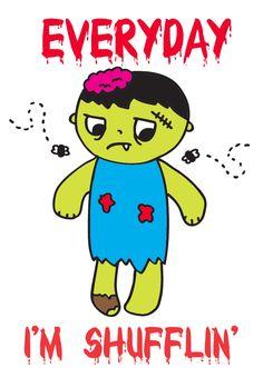 lmfao zombie. loyal army clothing
