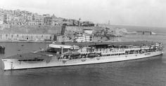 Mystery surrounds sinking of HMS Glorious.Sir Winston- luck of the draw Hms Furious, British Aircraft Carrier, Malta History, Royal Navy Aircraft Carriers, Ww2 Aircraft, Navy Ships, Royal Air Force, Battleship, World War Two