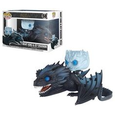 Game of Thrones Viserion Pop! Ridez with Night King Figure from Funko. Perfect for any Company_Funko Product Type_Pop! Vinyl Figures Theme_Game of Thrones fan! Game Of Thrones Figures, Funko Game Of Thrones, Pop Game Of Thrones, The Witcher, Pop Rocks, Catwoman, Marvel, Avengers, Disney Wallpaper