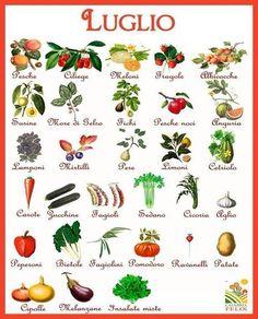 Anche questo mese vediamo la terra che cosa ci offre. Mangiare prodotti di stagione significa aver cura di se stessi, ma questo non basta, interessatevi de