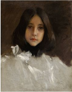 William Merritt Chase, The Artists Daughter, Alice, 1888