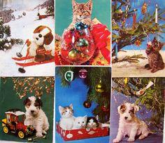 Vintage Postcards, Childhood, Retro, Christmas, Painting, Art, Vintage Travel Postcards, Xmas, Art Background