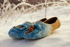 Nuno Felted Slippers