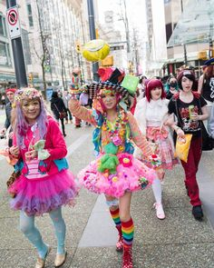 Harajuku fashion walk in Vancouver✨❤ #harajukufashionwalk #vancouver #Harajuku #kawaii #kawaiigirl #decora #decorafashion #fashion #colorful #cosplay #jfashion #cosplayer #pop #popkei #accessories #6dokidoki #原宿ファッションウォーク #harajukufashionwalkinvancouver