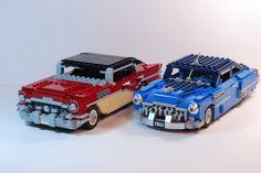 Classic lego cars