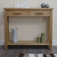 Hall Console Table With Drawers