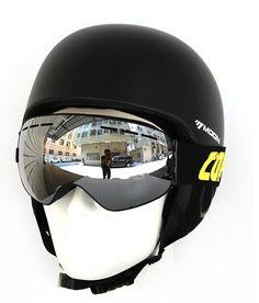 ce7d1b9448 HD Panoramic UV400 Anti-Fog Goggles in Black   Silver