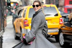 New York Fashion Week - Fall/Winter 2014-15 #nyfw #fashionweek #Streetstyle #nyfw2014 #nyfw14