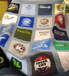 Young Life T-Shirt Quilt