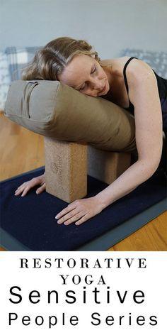 Restorative Yoga for Highly Sensitive People   Yoga with Melissa 488 Restorative Yoga Sequence, Yoga Sequences, Vinyasa Yoga, Namaste Yoga, Yin Yoga, Yoga Meditation, Sensitive People, Highly Sensitive, Zen