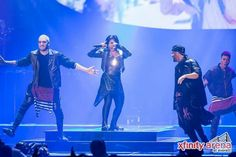Demi Lovato performing at the Comcast Arena in Everett, Washington - October 2nd #DemiWorldTour