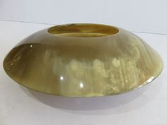 Signed Mid-Century Modern Arca Horn Bowl, Made In Italy by FLORIDAMODERN on Etsy