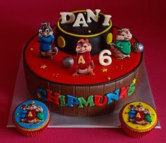 alvin and the chipmunks taart Alvin and the chipmunks birthday cake | Cake Design | Pinterest  alvin and the chipmunks taart