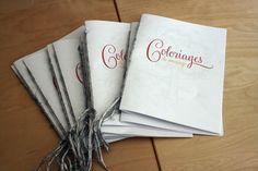 Fabriquer des livrets de coloriages pour un mariage   Mademoiselle Dentelle
