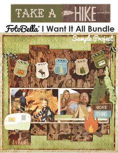 Monthly Bo Bunny I Want It All Membership for Scrapbooks, Cards, & Crafting