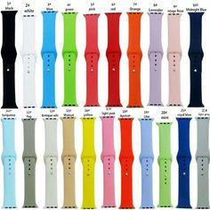 95eca1da036 Comprar Para 38mm 42mm Relógio Series1 2 Pulseira Bracelete de Pulso Para  iWatch Maçã Edição Esportes