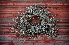 Pussy Willow Wreath Tutorial!  Stunning