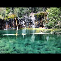 Hanging Lake, CO-- Such a reward after an intense hike!
