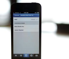 How to post Instagram photos to a Facebook Page - CNET