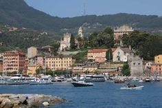 Santa Margherita Italy.  That was my hotel right under the church on the right.