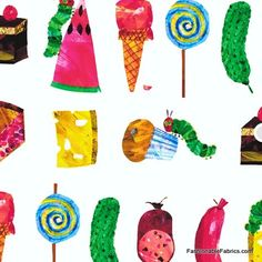 The Very Hungry Caterpillar Food by Eric Carle