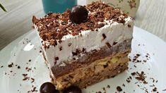 Perfektná nepečená torta podľa tohto receptu z youtube ohúri všetkých hostí. Príprava nezaberie veľa času a postup je veľmi jednoduchý!Potrebujeme:1 l mlieka 100 ml na namáčanie2 balíčky vanilkového pudingu2 PL kukuričného škrobu100 g kryštálového … Torte Cake, Nutella, Tiramisu, Pork, Sweets, Ethnic Recipes, Desserts, Cakes, Pies