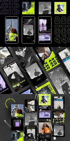 #adv #fashion ACID - 32 FUTURISTIC Instagram Stories