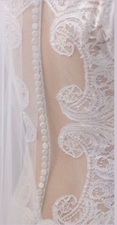 Breaking Dawn. Close up of Bella's wedding dress