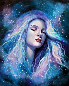 8 x 10 Fine Art Print Bury Me in the Stars by AuroraEventide