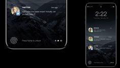 El iPhone 8 incluirá una área de funciones en lugar del botón de inicio