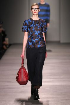 love the heavy wool cargo pants @ Marc by Marc Jacobs NYFW 2012