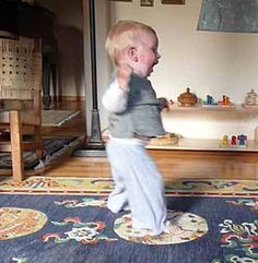 Videos that demonstrate child development from birth to age 3, - Montessori approach