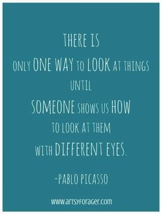 Picasso #quotes... Soo important to promote inclusion inside and outside the classroom....