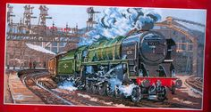 Stunning Evening Star Steam Locomotive Train Cross Stitch Kit | eBay