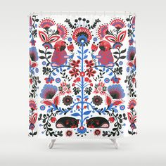 Cite #pug #shower #curtain #society6