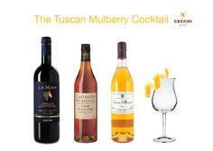 The Tuscany Mulberry Cocktail made with Morellino di Scansano wine #cecchi #recipe