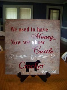 We used to have money. now we show cattle Cattle Barn, Show Cattle, Show Cows, Pig Showing, Teacup Pigs, Showing Livestock, Mini Pigs, Reptile Cage, Reptile Enclosure