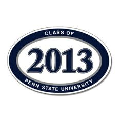 Penn State Class of 2013 Magnet