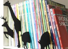 Animal Index By +D - Turn your bookcase into a zoo!