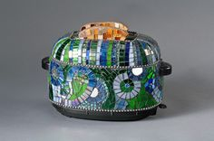 mosaic toaster art-How cute is this??????