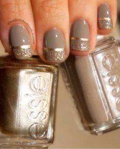 #nails #beige #classic