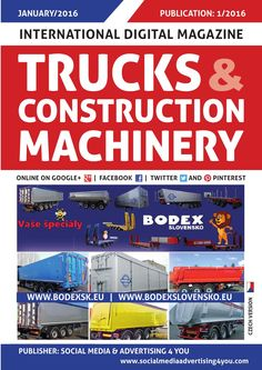 TRUCKS & CONSTRUCTION MACHINERY - January 2016