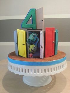 Monster Inc cake by ALL SWEET DESIGNS...