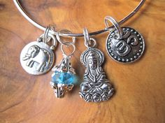ALEX and ANI inspired  ADJUSTABLE Bangle by DestinyAccessory, $21.00