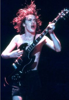 Angus Young - AC/DC, 1980