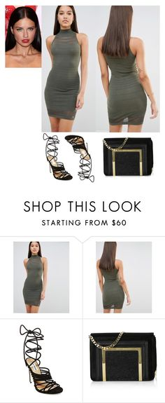 2016/813 by dimceandovski on Polyvore featuring Lipsy, Steve Madden and Jimmy Choo