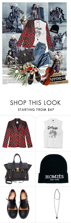 """""""Big Bang's G-Dragon& Kim Seung Hee@ Vogue magazine."""" by bubi210 ❤ liked on Polyvore featuring Moschino, J.Jill, Wool and the Gang, 3.1 Phillip Lim, Reason, Minimarket, Givenchy and LK Designs"""