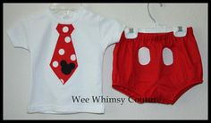 OMG! Mickey Mouse clothes!($27)
