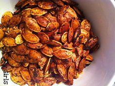 Cajun pumpkin seeds